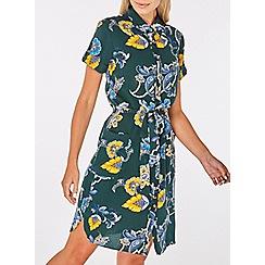 Dorothy Perkins - Multi-coloured paisley print shirt dress