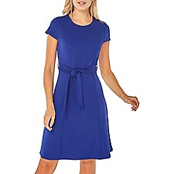 Dorothy Perkins - Cobalt self-tie belt mini dress