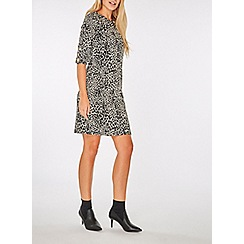 Dorothy Perkins - Leopard print mini shift dress