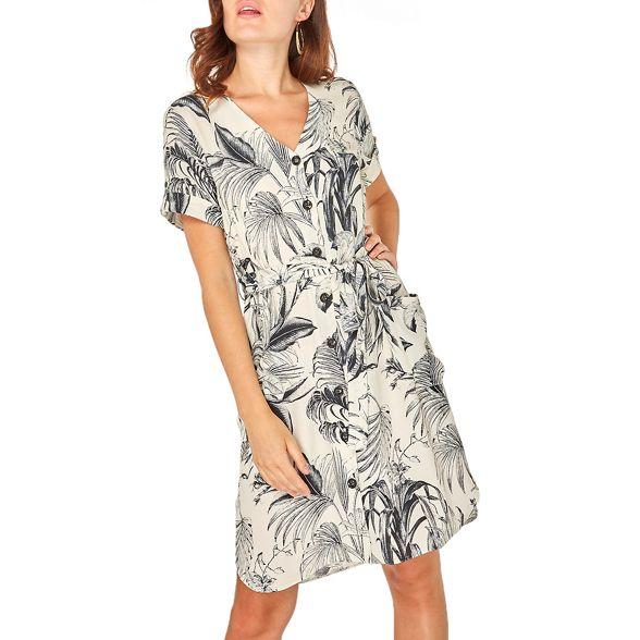 dress shirt print Cream Perkins Dorothy floral wq0IYXBS