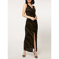 Dorothy Perkins - Gold knot maxi dress