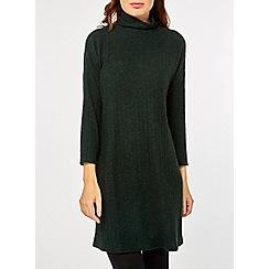 Dorothy Perkins - Green brushed jumper dress
