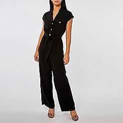 Dorothy Perkins - Black utility jumpsuit