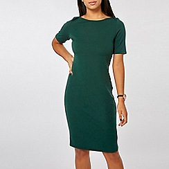Dorothy Perkins - Green bodycon dress