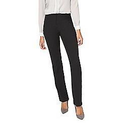 Dorothy Perkins - **tall black slim leg bootcut trousers