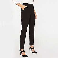 Dorothy Perkins - **tall black d-ring naples trousers