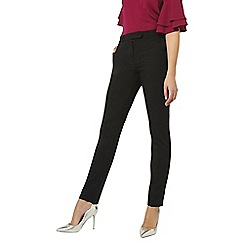 Dorothy Perkins - Tall black straight leg trousers