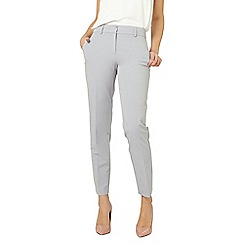 Dorothy Perkins - Tall silver split hem ankle grazer trousers