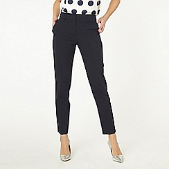 Dorothy Perkins - Tall navy split hem ankle grazer trousers