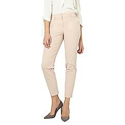Dorothy Perkins - Tall blush split hem ankle grazer tailored fit trousers