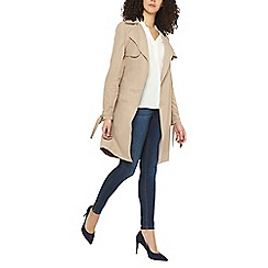 Dorothy Perkins - Tall camel waterfall mac jacket