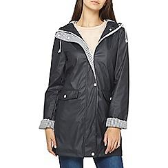 Dorothy Perkins - Tall navy raincoat