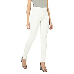 Dorothy Perkins - Tall white frankie skinny fit jeans