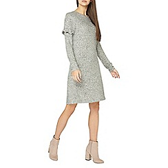 Dorothy Perkins - Tall grey brushed swing dress