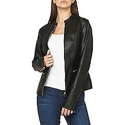 Dorothy Perkins - Tall black zip up jacket