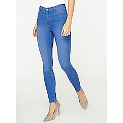 Dorothy Perkins - Tall bright blue frankie jeans
