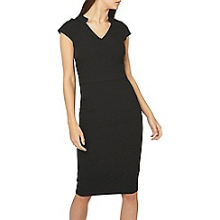Dorothy Perkins - Tall black v-neck pencil dress