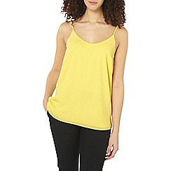 Dorothy Perkins - Tall lemon scoop neck camisole top