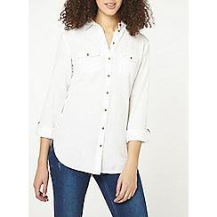 Dorothy Perkins - Tall cotton linen shirt