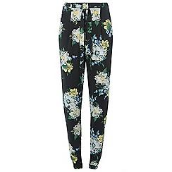 Dorothy Perkins - Tall ellen floral print tie waist joggers