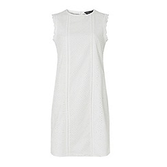 Dorothy Perkins - Tall ivory all over broderie shift dress