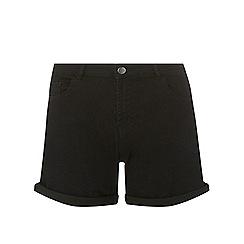 Dorothy Perkins - Tall black denim shorts