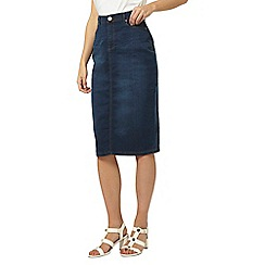 Dorothy Perkins - Tall denim pencil skirt