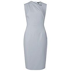Dorothy Perkins - Tall silver pleat polly pencil dress