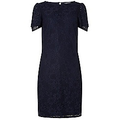 Dorothy Perkins - Tall navy lace shift dress