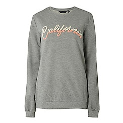 Dorothy Perkins - Tall grey California motif sweatshirt