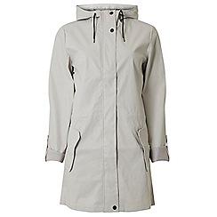 Dorothy Perkins - Tall grey spot lined raincoat
