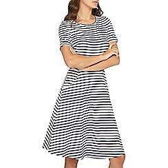 Dorothy Perkins - Tall navy stripe t-shirt dress