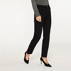 Dorothy Perkins - Tall black straight leg jeans