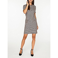 Dorothy Perkins - Tall pink geometric shift dress
