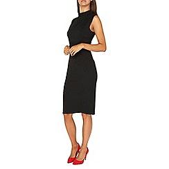Dorothy Perkins - Tall black high neck pencil dress