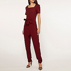 Dorothy Perkins - Tall red jumpsuit