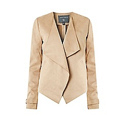 Dorothy Perkins - Tall Tan Waterfall Jacket