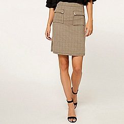 Dorothy Perkins - Tall camel pocket mini skirt