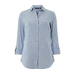 Dorothy Perkins - Tall Chambray Linen Shirt
