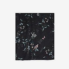 Dorothy Perkins - Black floral dragonfly print scarf