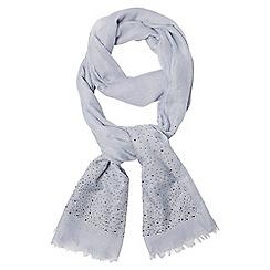 Dorothy Perkins - Blue rhinestone scarf