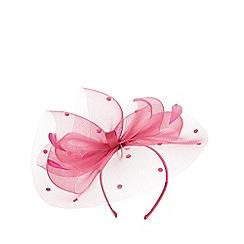 Dorothy Perkins - Fuschia spot bow fascinator