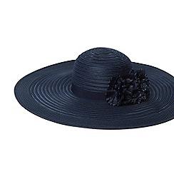Dorothy Perkins Navy Occasion Fl Floppy Hat