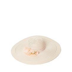 Dorothy Perkins - Blush occasion floral floppy hat