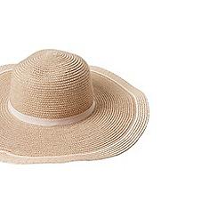 Dorothy Perkins - Rose gold floppy hat
