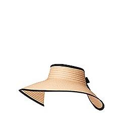 Dorothy Perkins - Natural visor hat