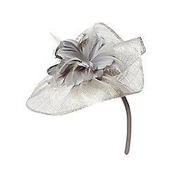 Dorothy Perkins - Silver corsage fascinator