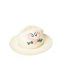 Dorothy Perkins - Flamingo trilby hat