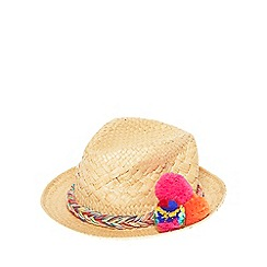 Dorothy Perkins - Coloured pom trilby hat