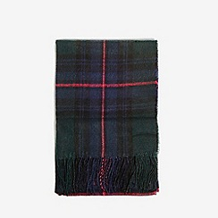 Dorothy Perkins - Navy dark checked scarf